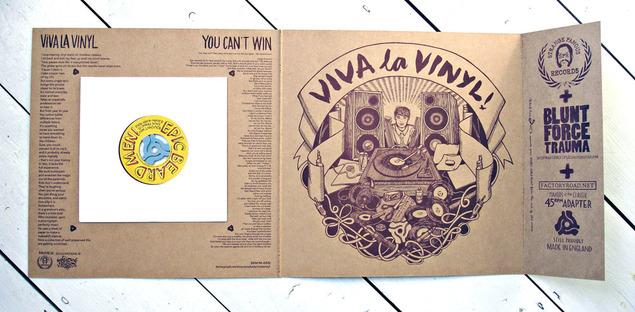 Record Store Day 2014 – Viva La Vinyl, Epic Beard Men