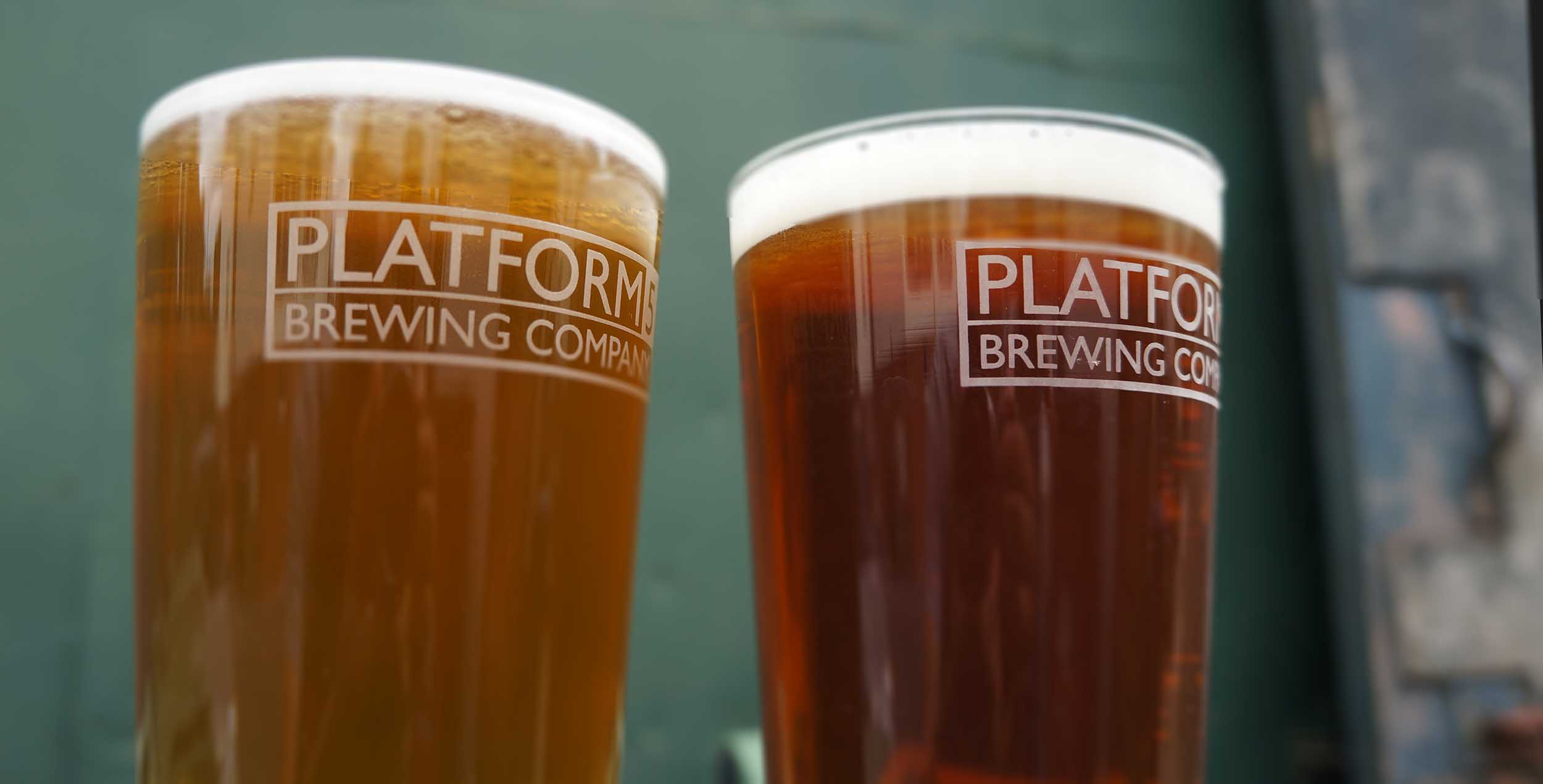 platform 5 brewing company, devon